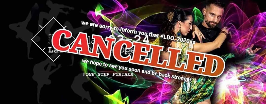 LDO 2020 cancel